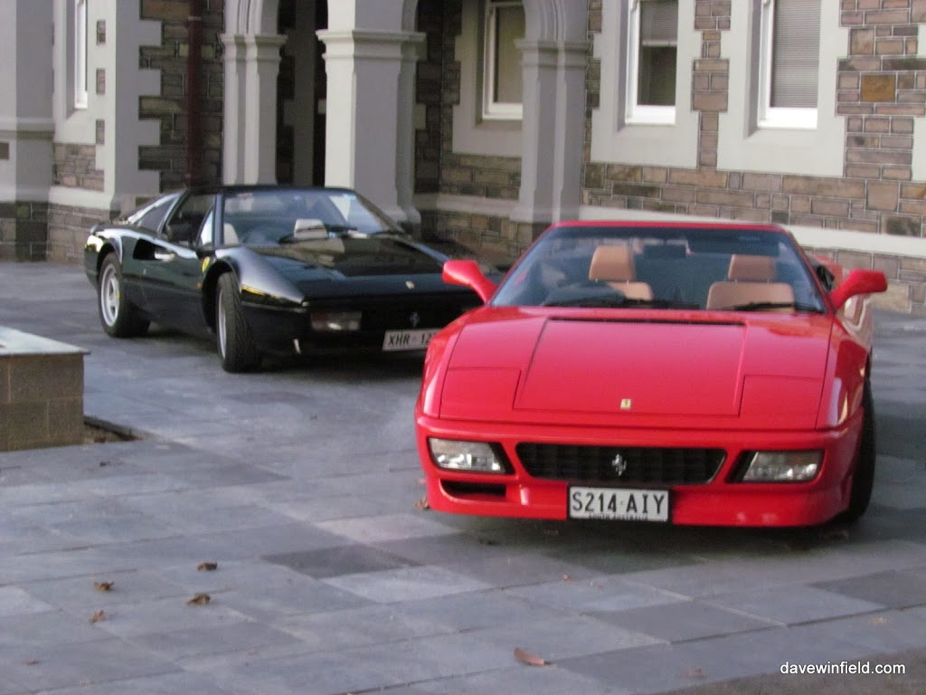Ferrari Photoshoot – Andre