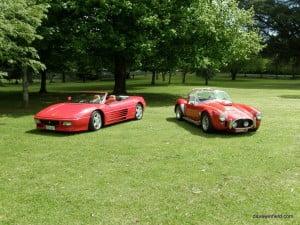 Ferrari F348 & Cobra Photoshoot