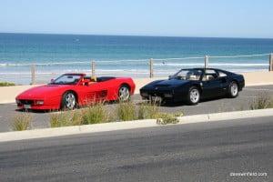 Southern Beaches Ferrari Photoshoot
