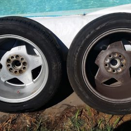 Cleaning (Really Dirty) Car Wheels
