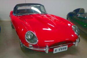 Carl_Lindner_Collection – 1963 Jaguar E-Type Series 1 Roadster 06 (A look around the Carl Lindner Jaguar Collection)
