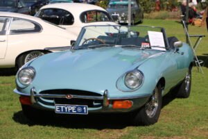 Jaguar E-Type Series 2 – British_Classic_Tour_6_May_2018_0187 (British Classic Tour at Victor Harbor. S.A. 2018)