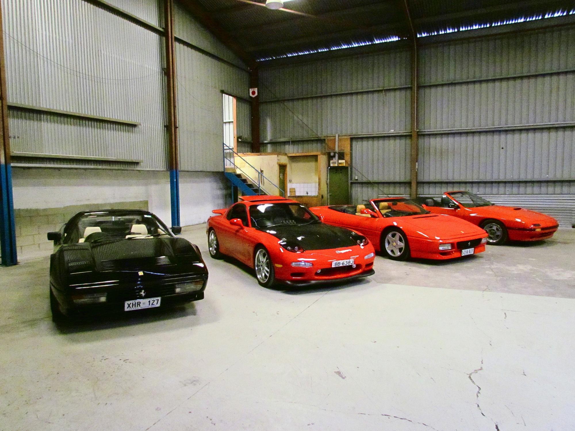 Mazdas and Ferraris