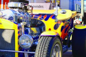 Bucket Hot Rod (Coffee & Chrome, Adelaide – June 2018)