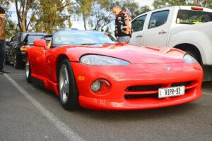1993 Dodge Viper Front Right (Car Photographs – Events)