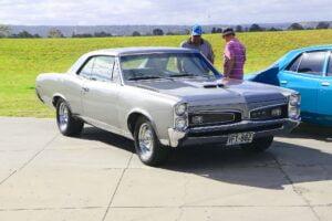 Pontiac GTO (Silver) (01) (Car Photographs – Events)